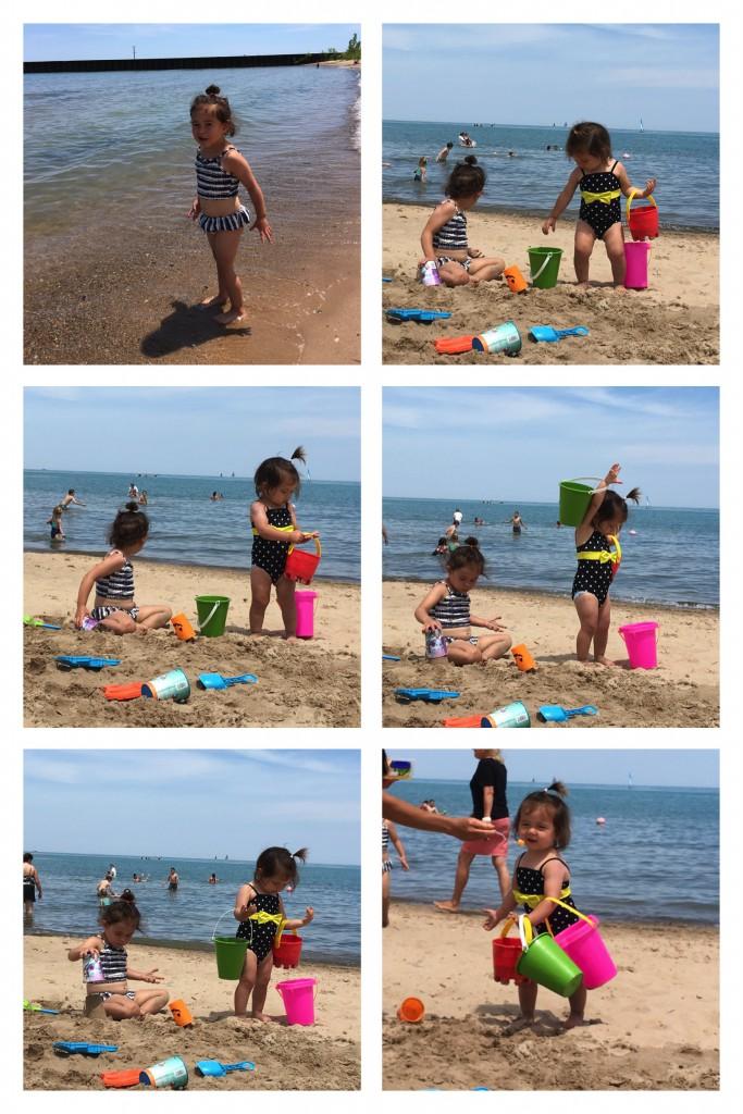 Fun Evanston Beach Day